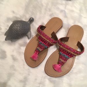 NWT Mystique Multi-Color Sandals Size 8
